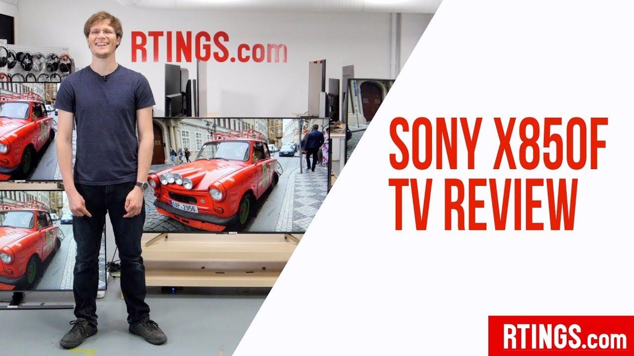 Sony X850F TV Review - RTINGS com