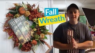 Fall Wreath Part 1 thumbnail