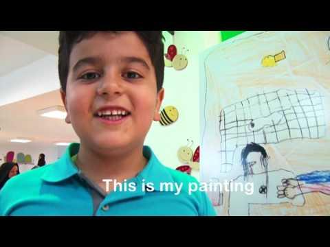 Hand Hygiene Painting Festival,Mashhad-Iran