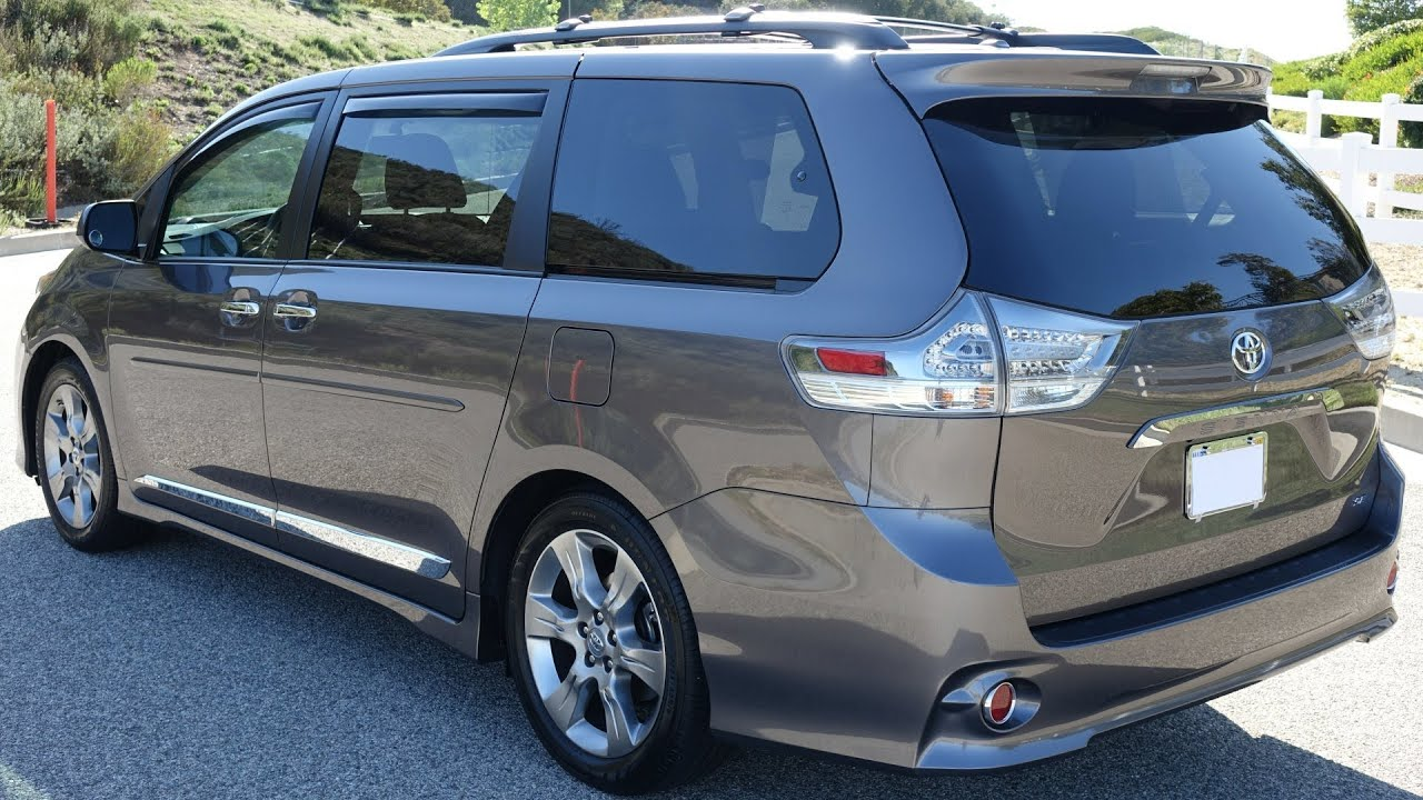 Amazing 2014 Toyota Sienna Hybrid  2016 2017 Cars Reviews