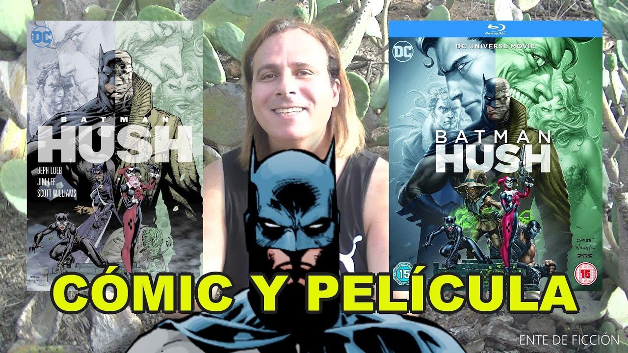 Batman: Hush (2019) # Batman: Silencio # Crítica de la película animada y el cómic original