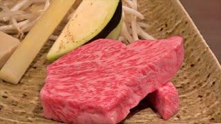 Kagoshima A5 wagyu Beef sirloin Steak course   teppanyaki in Japan