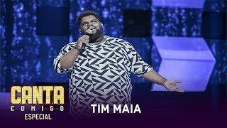 Tiago Mendes, coordenador de Programação do RJ, solta a voz ao som de Tim Maia