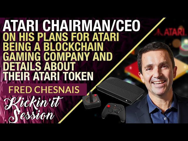 CEO of Atari Talks Plans To Integrate Blockchain Into Atari's Games & The Launch of Atari Token