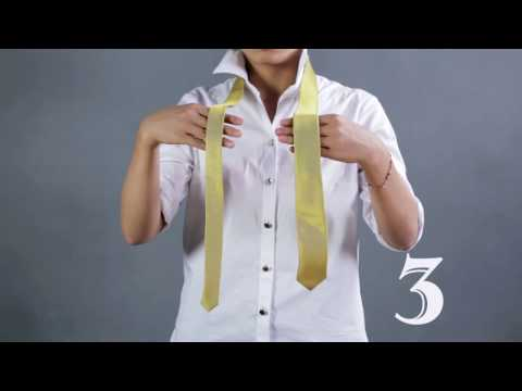 Tips - How to Tie a Tie in 10 Seconds - 3 easy ways to tie a tie !
