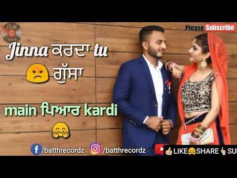 Barabar Boli Punjabi song status video