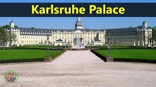 Best Tourist Attractions Places To Travel In Germany | Karlsruhe PalaceDestination Spot