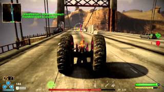 Twisted Metal PS3, Axel, ONLINE Team Deathmatch Diablo Pass 11/03/12