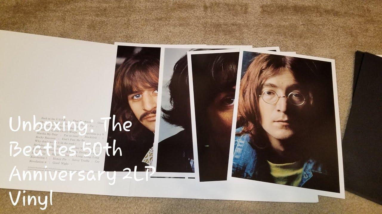 Unboxing: The Beatles (White Album) 50th Anniversary Vinyl 2 LP (Apple  B0028831-01)