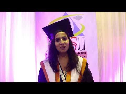 BBSU 1st Convocation 2018 Interviews