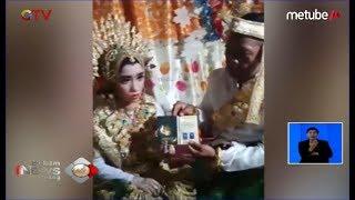 HEBOH! Pernikahan Beda Generasi di Sidrap, Mempelai Pria 41 Tahun Nikahi Gadis 13 Tahun - BIS 15/06