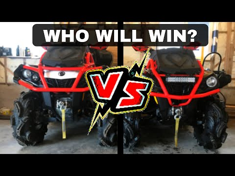 Can Am XMR 650 Vs 570