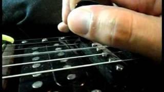 Tutorial de Harmônico Artificial - GuitarDreamer