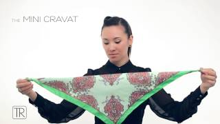 How to wear little neck scarf - Tie Rack Edition - Short Promo