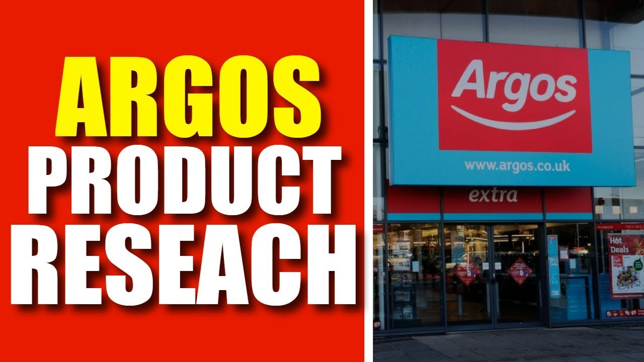 Argos Product Research For eBay UK Dropshipping