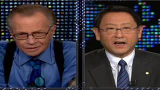 Toyota's president speaks thumbnail
