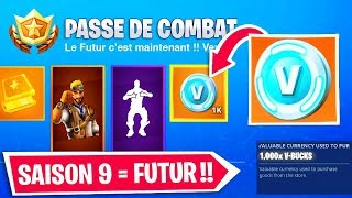 FORTNITE SAISON 9 : SKIN PASSE DE COMBAT, THÈME (+ ANALYSE TEASER)