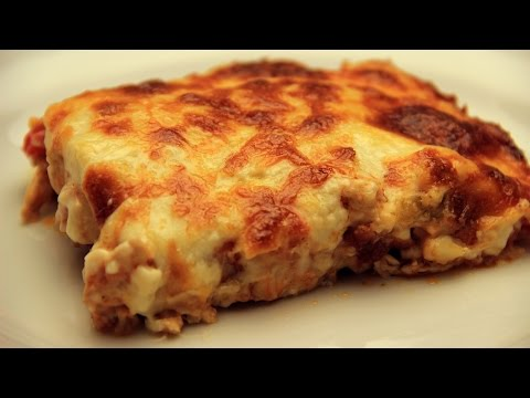Thumbnail: Baked Chicken and Potatoes with Bechamel Sauce Recipe