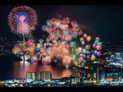 琵琶湖花火大会 タイムラプス動画 2016.8.8