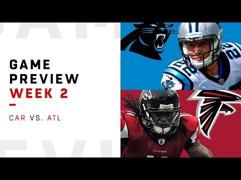 Carolina Panthers vs. Atlanta Falcons | Week 2 Game Preview | NFL Playbook