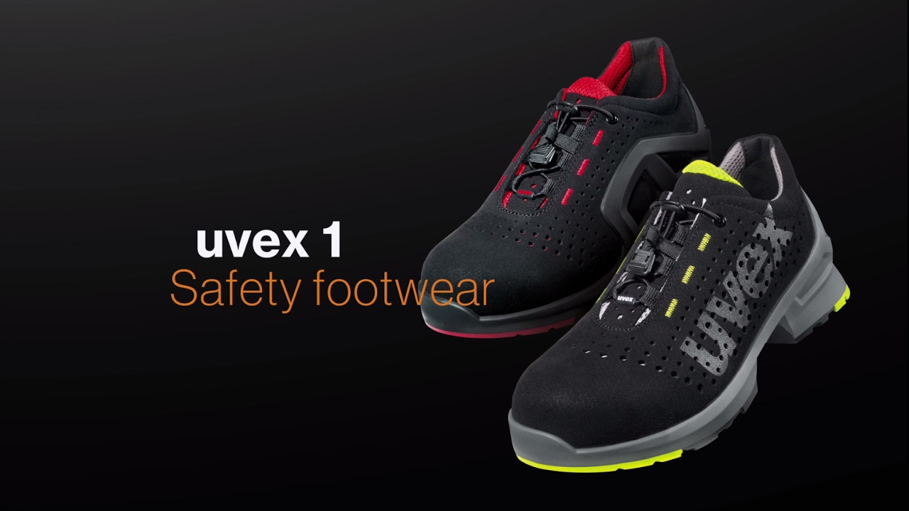 new concept fea6b 9ca95 Metal free safety shoes - S1, S1 P, S2 & S3 - uvex 1 (English)
