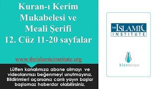 Kuranı Kerim Mukabelesi Ve Meali 12. Cüz 11-20. Sayfalar