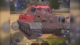 ИС-3 против Tiger 2 wot blitz, кто круче? Деды воевали #4.
