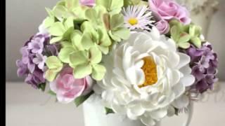Ищите необычные подарки? уникальные подарки? Букет искусственных цветов «Вернисаж»(Подписаться на бесплатные мастер-классы и новые композиции, купить букеты и материалы для творчества -..., 2014-12-31T08:29:06.000Z)