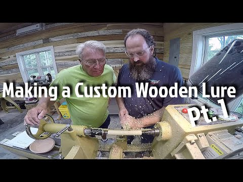 Making a Custom Wooden Lure - How To Pt. 1
