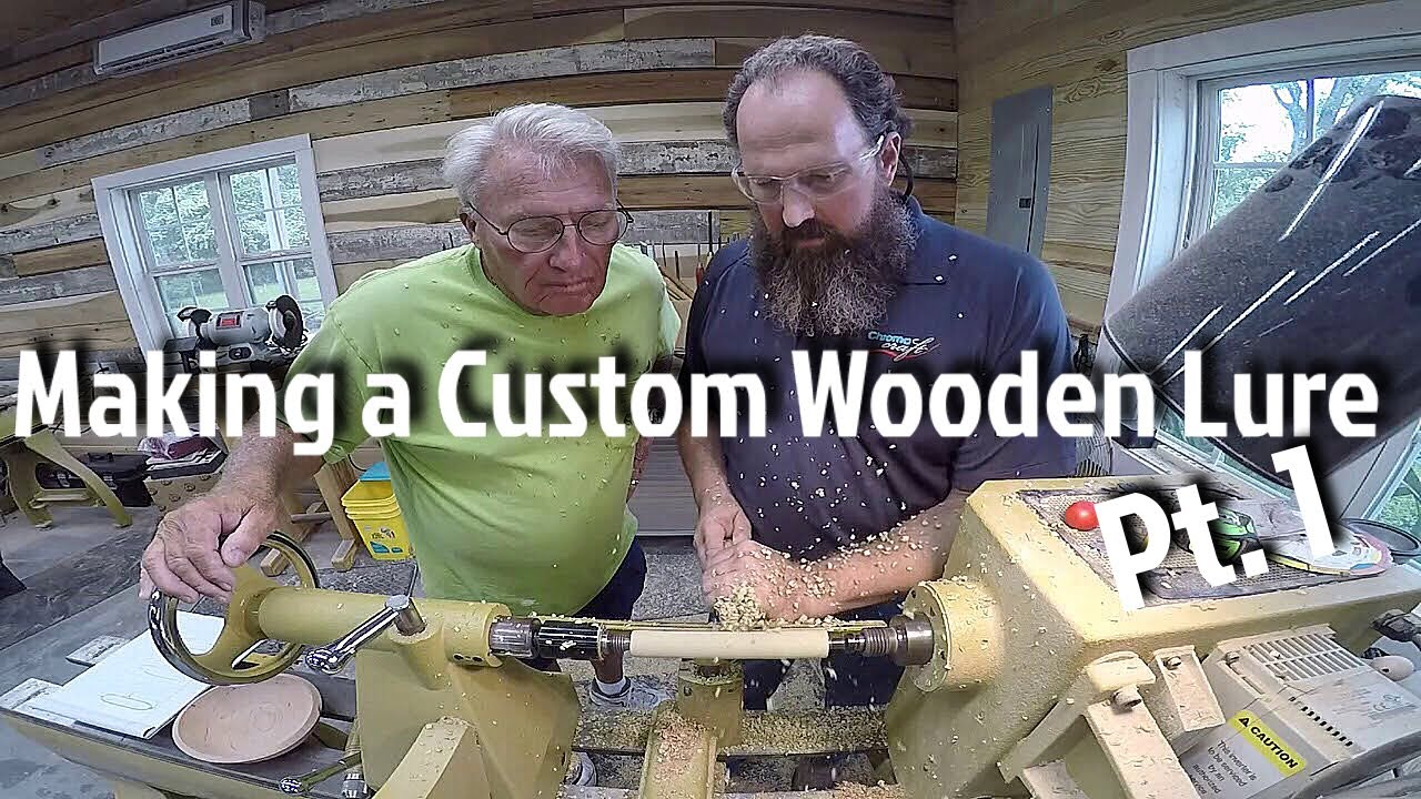 Making a Custom Wooden Lure - How To Pt  1