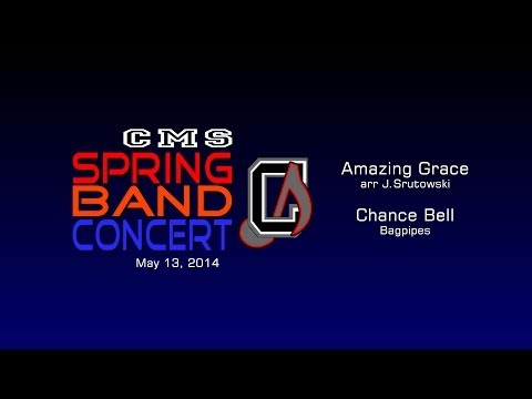 Chickahominy Middle School 2014 Spring Band Concert - Amazing Grace