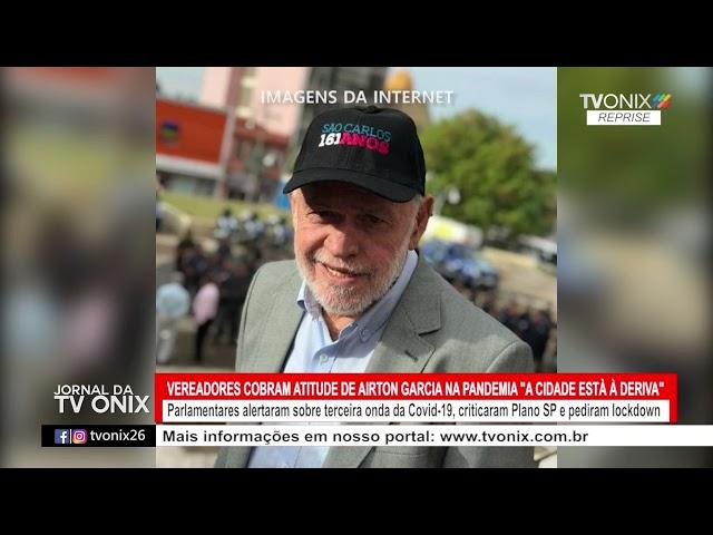 Jornal da TV Onix - Ao Vivo: 27/05/2021