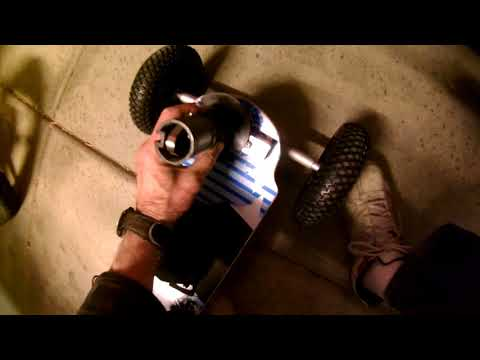 03-08-18 MBS Mountainboards Atom 95X and Atom 80 Mast Track for Landsailing by Michael Hoffman