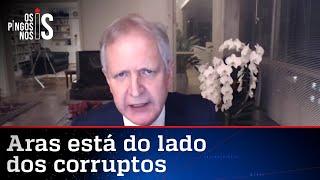 Augusto Nunes: Aras reproduz discurso dos advogados de Lula