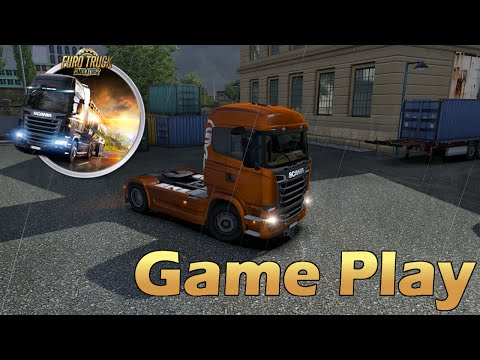 [Game Play] Euro Truck Simulator 2 : My Trip [Ultra 1080pᴴᴰ]