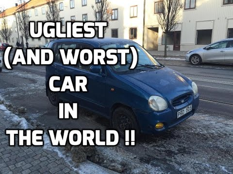 Фото к видео: The Ugliest (and worst) Car In The World ! 2000 Hyundai Atos Review