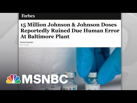 U.S. Maintains Robust, Record Breaking Covid Vaccination Rate | Rachel Maddow | MSNBC