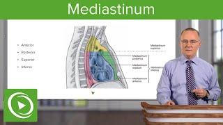 mediastinitis.