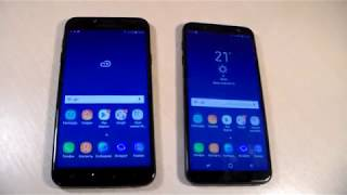 Samsung Galaxy J6 2018 vs Samsung Galaxy J4 2018