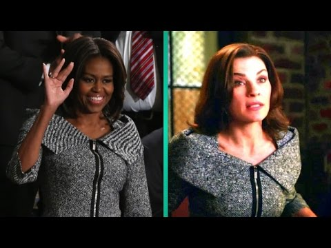 Michelle Obama Channels 'The Good Wife' With State of the Union Outfit
