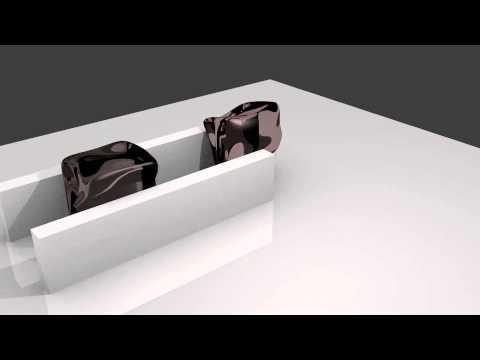Blender Softbody Permanent Deformation