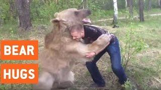 Man Wrestling A Bear | Bear Hugs