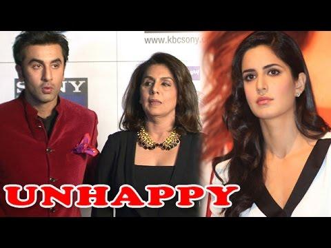 Ranbir Kapoor's Parents Unhappy with Katrina Kaif   HOT GOSSIP