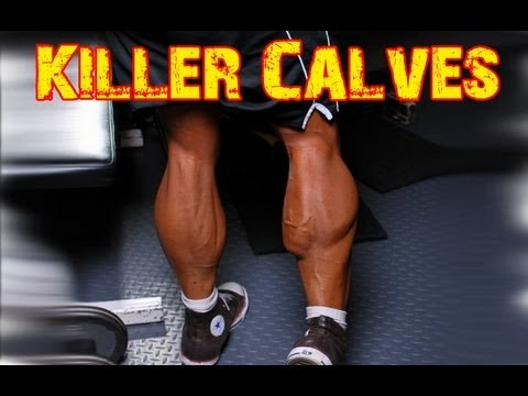 How To Build Big Calves - Exaggerated Range Of Motion Calf Raises ...