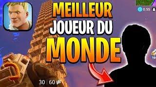 LE MEILLEUR JOUEUR DU MONDE SUR FORTNITE MOBILE ! LE NINJA DE L'IPAD BEST FORTNITE MOBILE PLAYER
