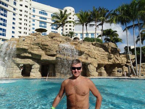 Майами - водная горка Hard Rock Hotel!!!
