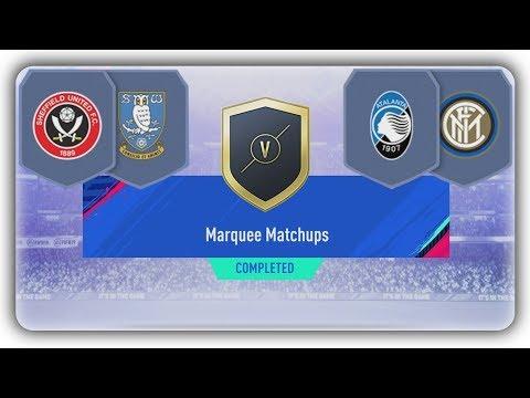 Marquee Matchups SBC - Sheffield Utd v Sheffield Wednesday + Atalanta v Inter