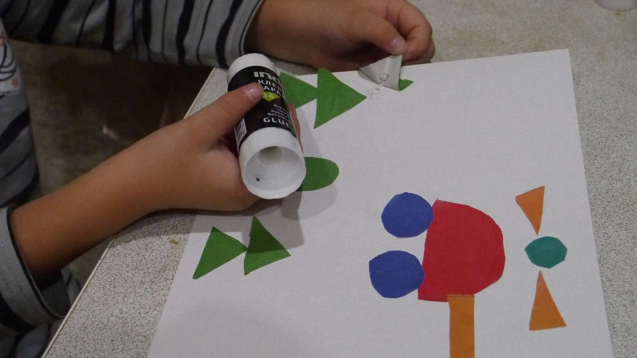 How To Craft Geometric Shapes And Patterns With Kids - DIY Crafts Tutorial  - Guidecentral