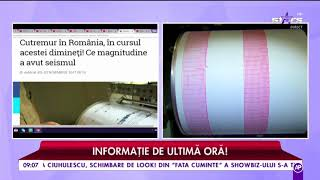 Un nou cutremur a zguduit România