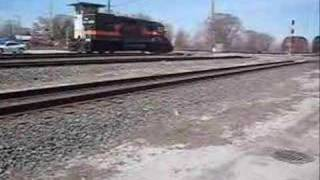 7 Railroads 1 day in chicago Awesome Railfan trip